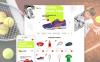 Responsywny szablon OpenCart Tennis Pro #58286 New Screenshots BIG