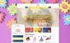 Template Shopify Responsive #58213 per Un Sito di Negozio di Giocattoli New Screenshots BIG
