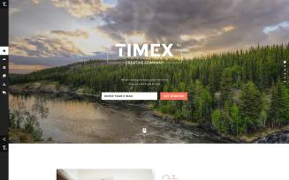 Timex Website Template