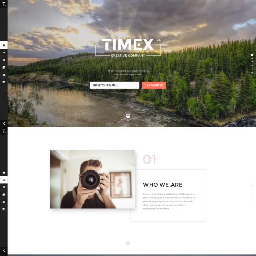Timex - Website Template based on Bootstrap