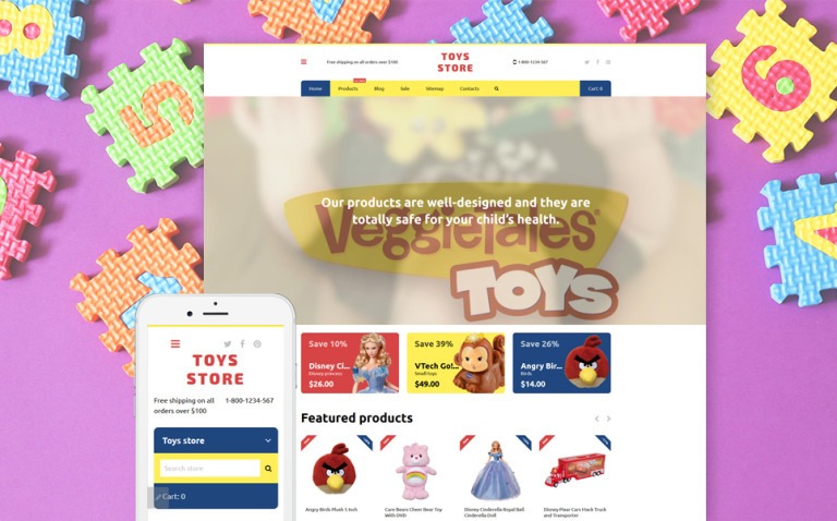 Toys Store Shopify Theme New Screenshots BIG
