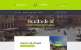 """Wonder Tour - Travel Agency Multipage HTML"" modèle web adaptatif"