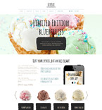 Food & Drink Joomla  Template 58302