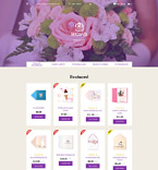 Wedding OpenCart  Template 58307