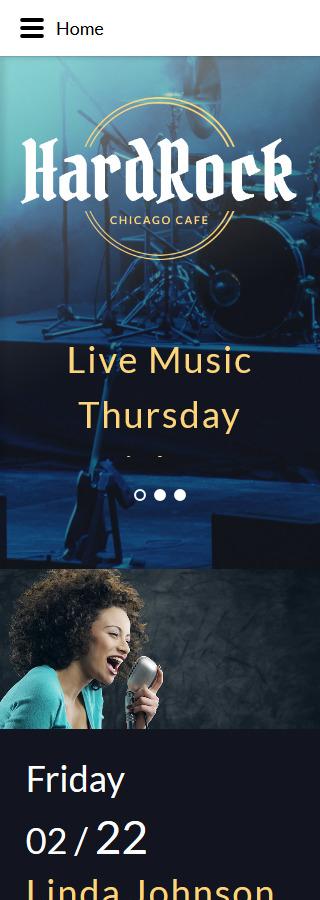 Joomla Theme/Template 58313 Main Page Screenshot
