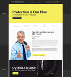 Law Website  Template 58315