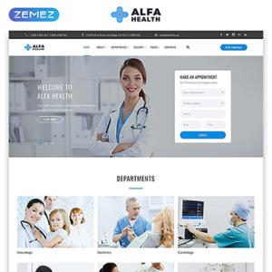 Screenshot of Alpha Ambulance Cardiologist