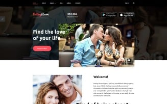 DatingRoom Joomla Template