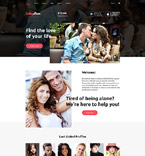 Dating Joomla  Template 58320