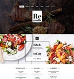 Cafe & Restaurant Joomla  Template 58322