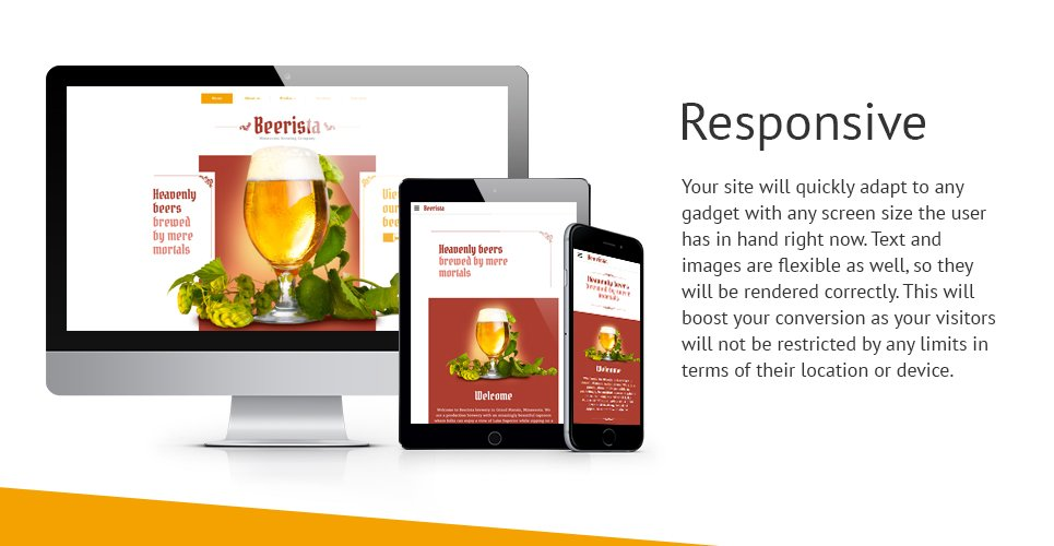 Beerista Website Template