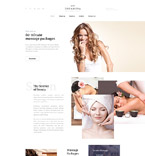 Beauty Website  Template 58327