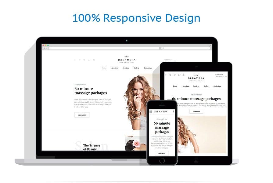 Modèles HTML5 Beauté #58327