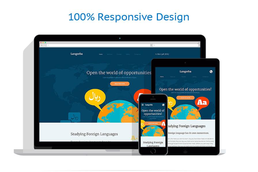 Modèles HTML5 Education #58328