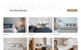 Responsivt Jasmine - Hotel Classic Multipage HTML5 Hemsidemall