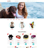 Animals & Pets OpenCart  Template 58332