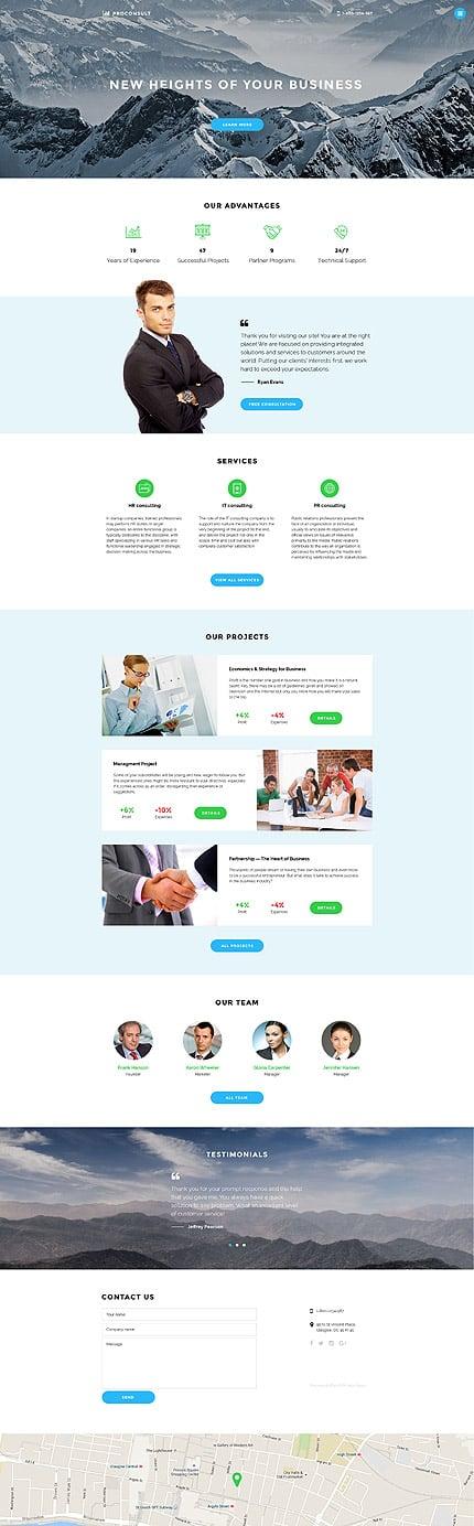 Joomla Theme/Template 58333 Main Page Screenshot