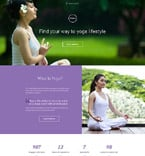 Sport Landing Page  Template 58334