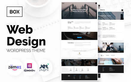 Box - Web Design Multipurpose Modern Elementor WordPress Theme
