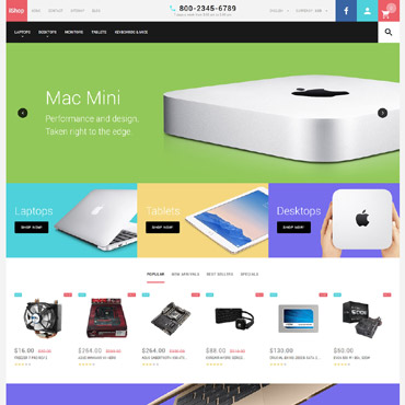 Preview image of Computers PrestaShop Theme No. 58338