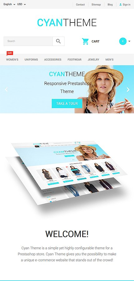 ADOBE Photoshop Template 58343 Home Page Screenshot
