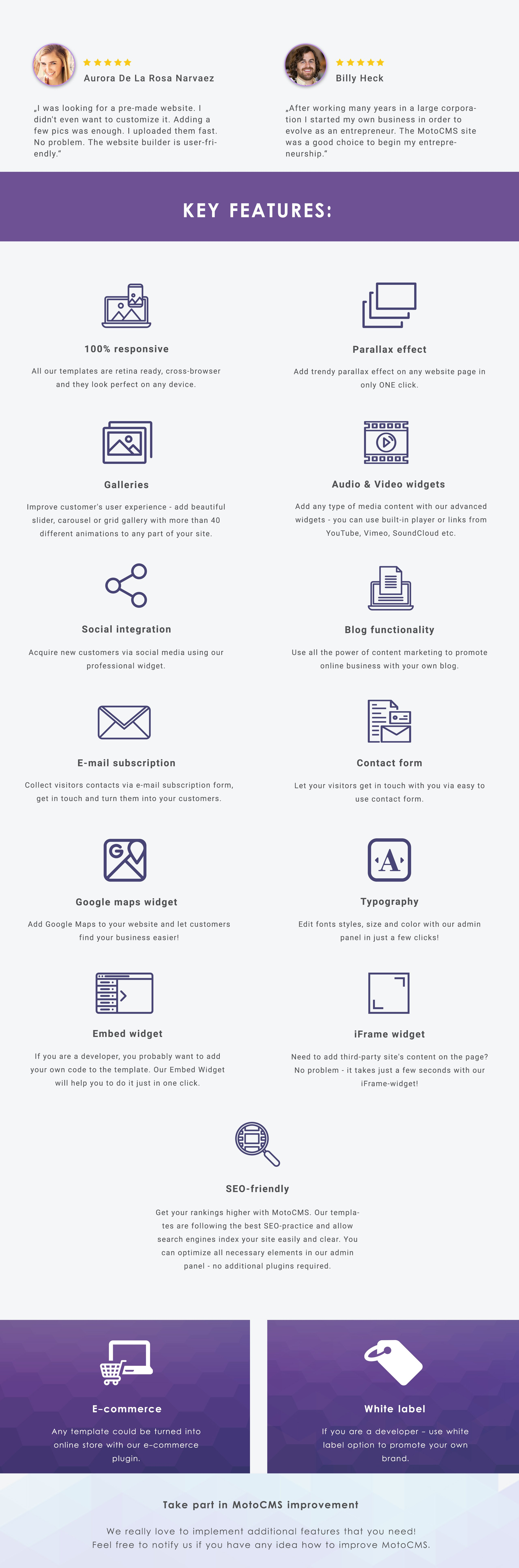 MailJet - Email Moto CMS 3 Template