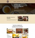 Food & Drink Moto CMS 3  Template 58353