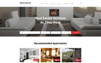 Real Estate Responsive Website Template