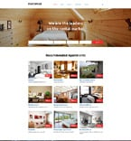 Real Estate Website  Template 58356