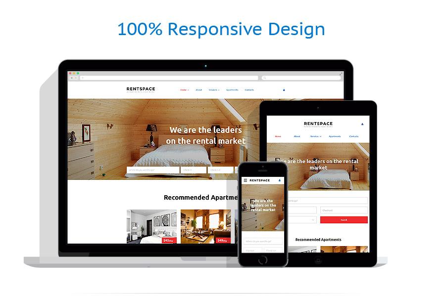 Modèles HTML5 Immobilier #58356