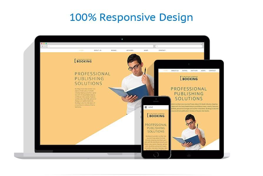 Modèles HTML5 Livres #58358