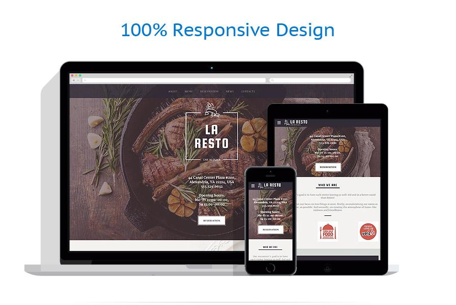 Modèles HTML5 Café et Restaurant #58360