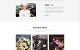 "Template Siti Web Responsive #58360 ""Pesto - Italian Restaurant Multipage Stylish HTML"""