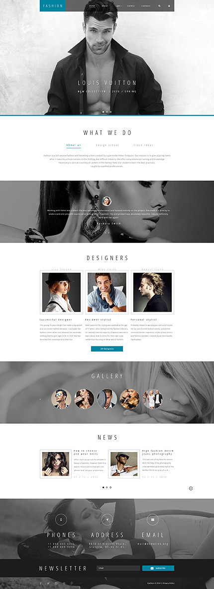 Joomla Theme/Template 58361 Main Page Screenshot