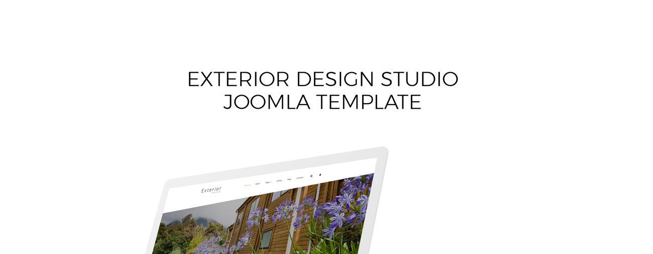 Exterior Design Studio Joomla Template