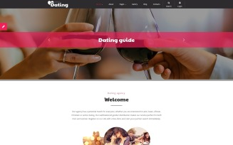 Dating Joomla Template