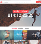 Media WordPress Template 58365