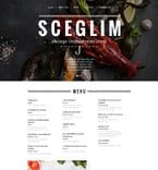 Cafe & Restaurant Website  Template 58366