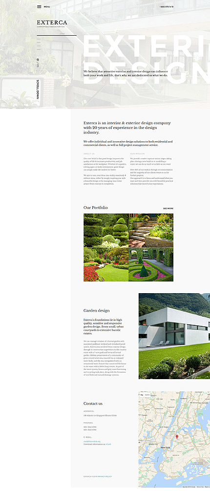 Joomla Theme/Template 58370 Main Page Screenshot