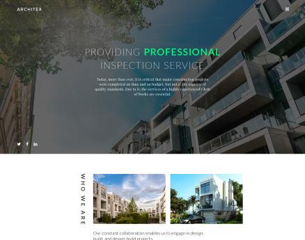 Architecture Website Template