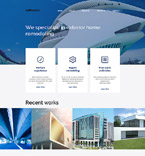 Furniture Website  Template 58372