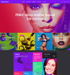 Fashion WordPress Template 58377
