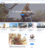 Sport WordPress Template 58378