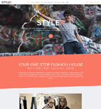 Fashion Joomla  Template 58381
