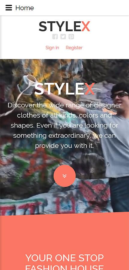 Joomla Theme/Template 58381 Main Page Screenshot