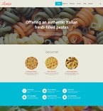 Cafe & Restaurant WordPress Template 58382