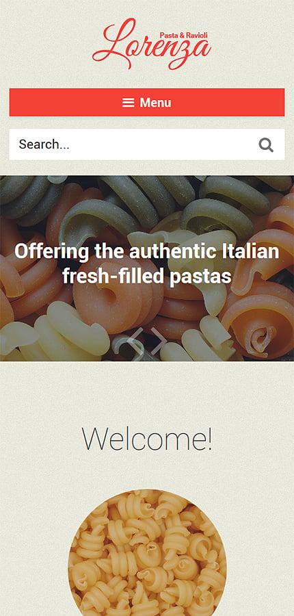 WordPress Theme/Template 58382 Main Page Screenshot