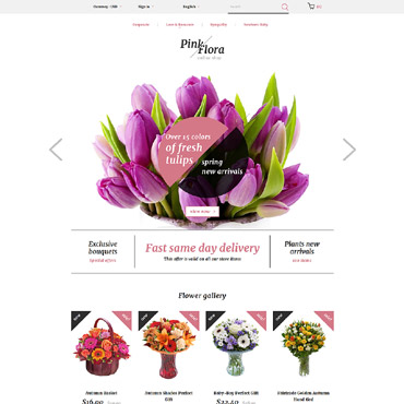Купить  пофессиональные PrestaShop шаблоны. Купить шаблон #58383 и создать сайт.