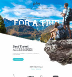 Travel PrestaShop Template 58385