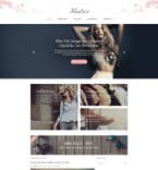 Fashion WordPress Template 58389